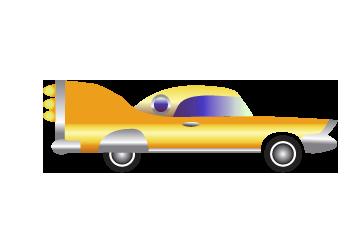 Vintage Tin Litho Friction Speed King Race Car Toy Mark Ya Japan